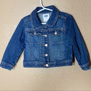Old Navy toddler girl jean jacket